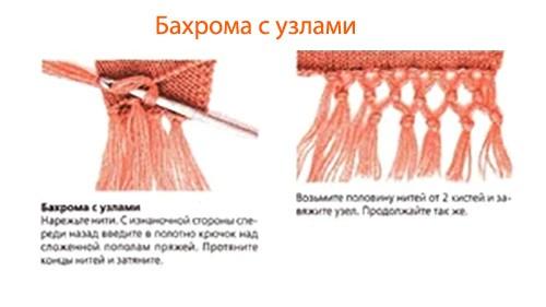 kak-sdelat-baxromu-na-vyazanom-sharfe