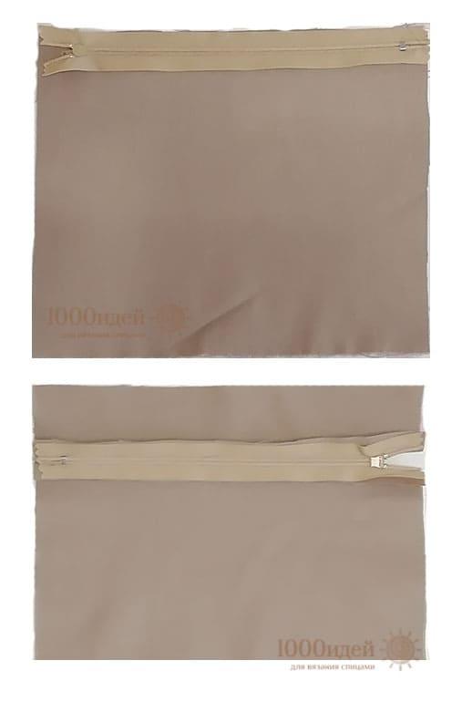 Пошив кармана на молнии